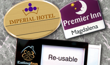 Name Badges - imperial hotel